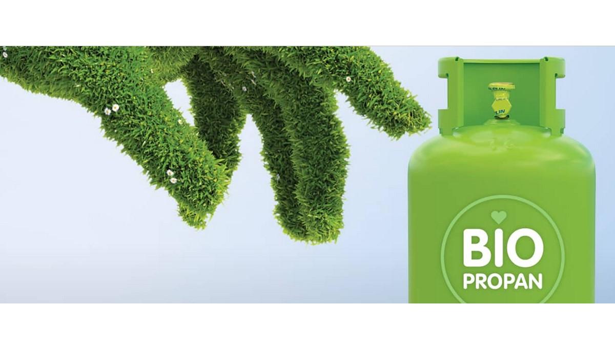 BIOpropan - zelene jeklenke Butan plin že na voljo!
