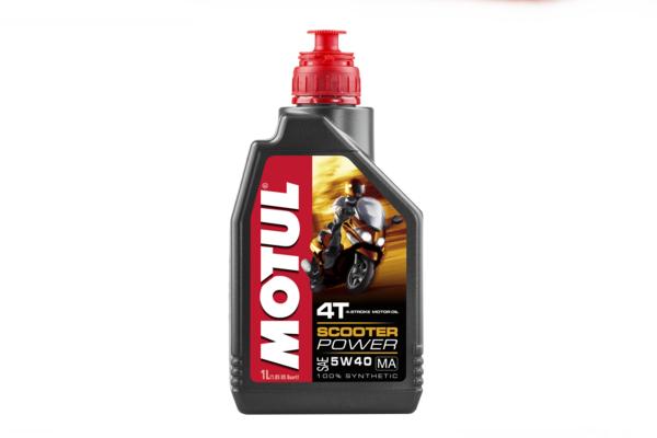 Olje Motul Scooter 5W40 4T 1L