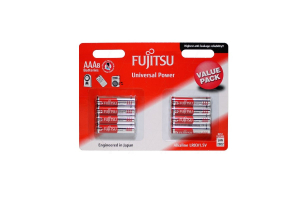 Baterija AAA LR03 1.5V Alkaline Fujitsu 8 kos