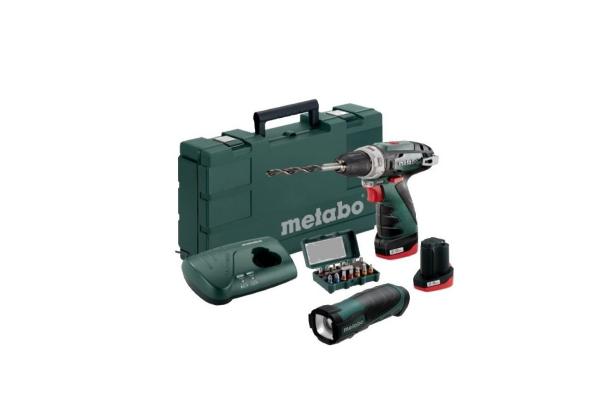Akumulatorski vrtalnik - vijačnik METABO POWERMAXX BS