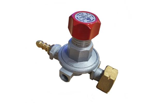 Regulator z ventilom za brener
