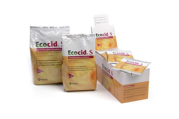 Ecocid S - vsestransko visoko aktivno razkužilo