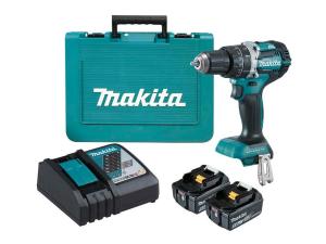 Akumulatorski vibracijski vrtalnik - vijačnik Makita DHP484RTE