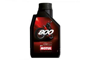 Olje Motul 800 Off road 2T Technosynthese 1L