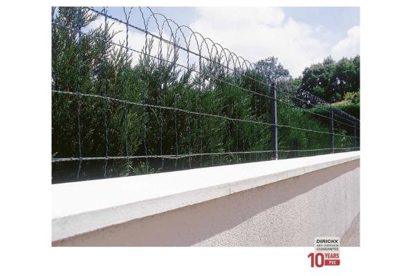 Pletena mreža Dirickx Dekoran - Rola 25m Zelena RAL 6005