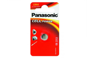 Baterija LR44 1.5V 120 mAh Micro Alkaline Panasonic 1 kos