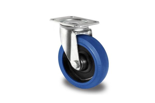 gibljivo kolo, Ø 100 mm, elastična guma