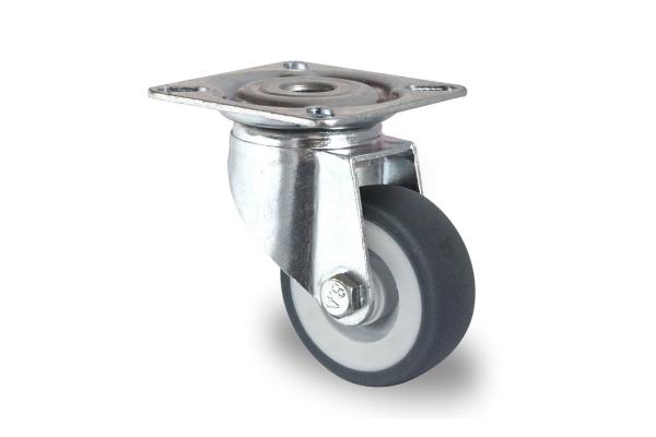 gibljivo kolo, Ø 50 mm, termoplastična guma