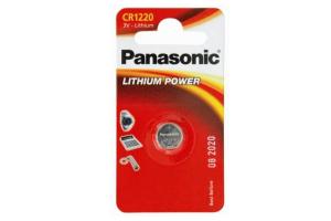 Baterija CR 1220 3V Lithium Panasonic 1 kos