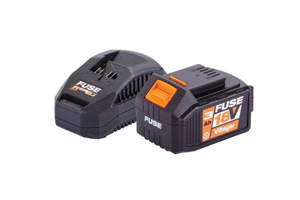Fuse set akumulator 3.0Ah + polnilnik 2.4A