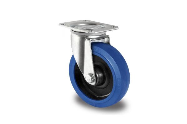 gibljivo kolo, Ø 125 mm, elastična guma