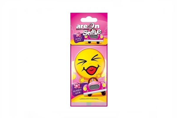 AREON Osvežilec za avto SMILE Bubble Gum