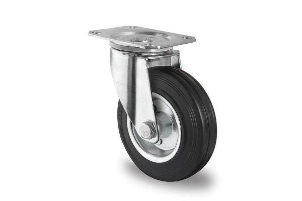 gibljivo kolo, Ø 160 mm, navadna guma