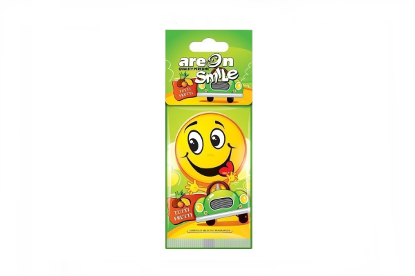 AREON Osvežilec za avto SMILE Tutti Frutti