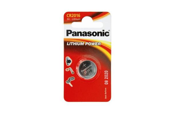 Baterija CR 2016 3V Lithium Panasonic 1 kos