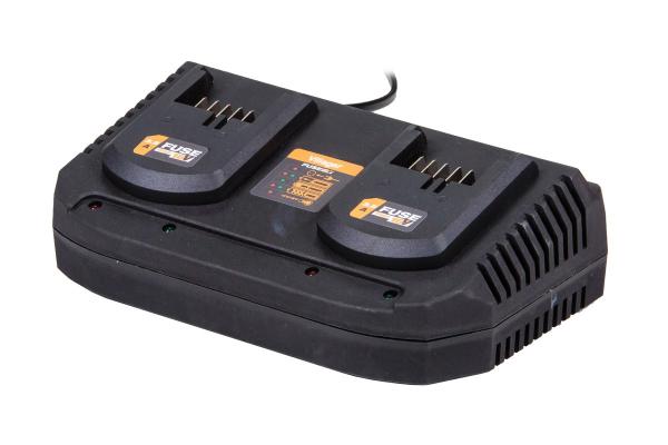 Fuse polnilnik za 2 akumulatorja 18V 2 x 3.5 A