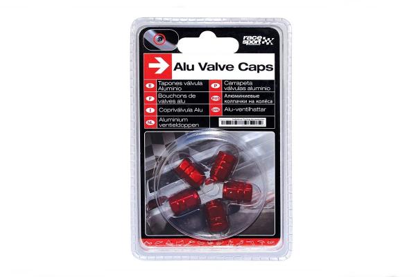 Okrasni pokrovčki ventilov - rdeči