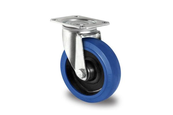 gibljivo kolo, Ø 160 mm, elastična guma