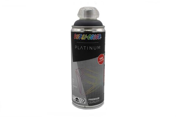 Barvni sprej dupli color - Temno siva polmat 400ml