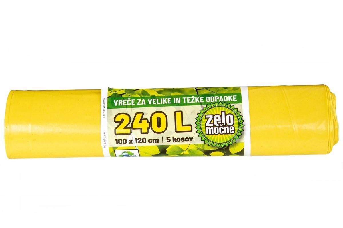 Vrečke za smeti 240 L