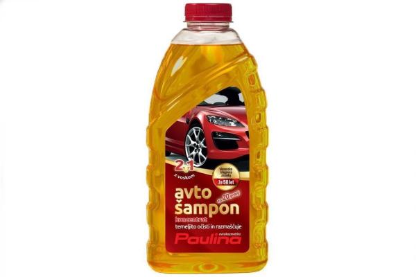 Paulina avto šampon z voskom - konentrat 1 L